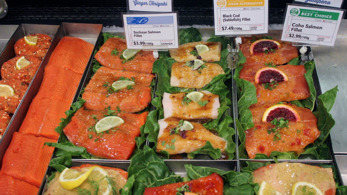 Whole foods market west vancouver store tours for Whole foods fish on sale this week