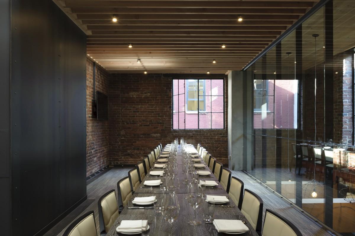 l'abattoir private dining room