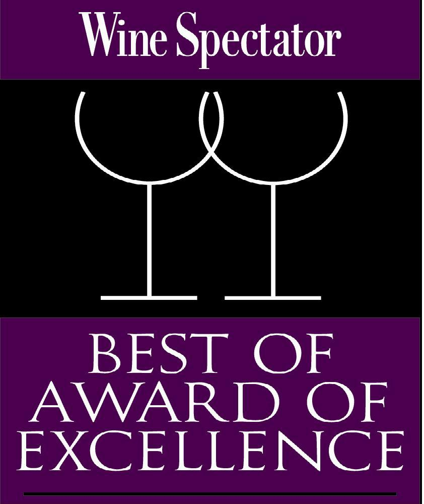 RESTAURANT 62 EARNS WINE SPECTATOR AWARD OF EXCELLENCE FOR